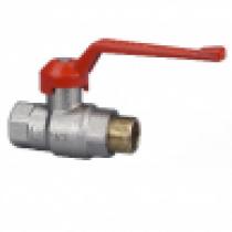 KOVINA krogelni ventil z zunanjim/notranjim navojem 1/4'' do 2''