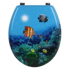 WC deska - ribe