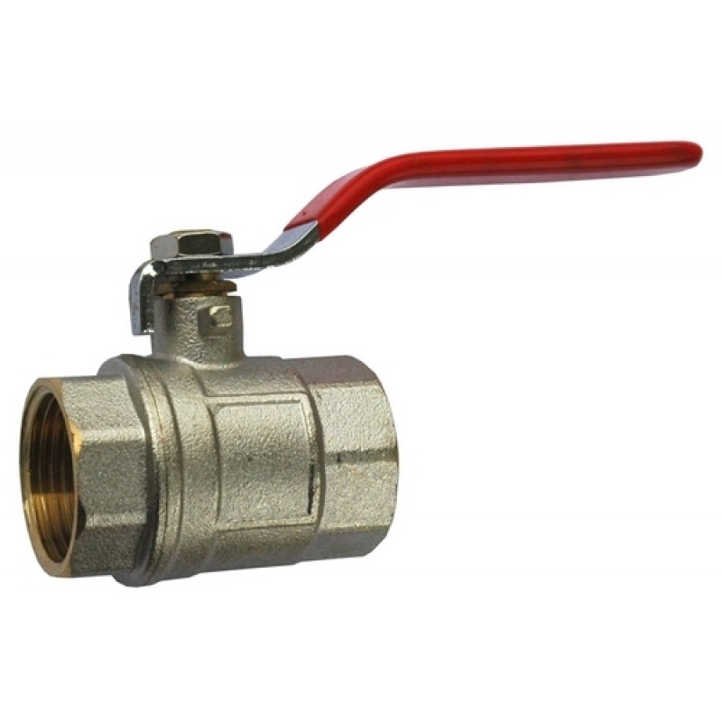 Kroglični ventil z jekleno ročico FIT