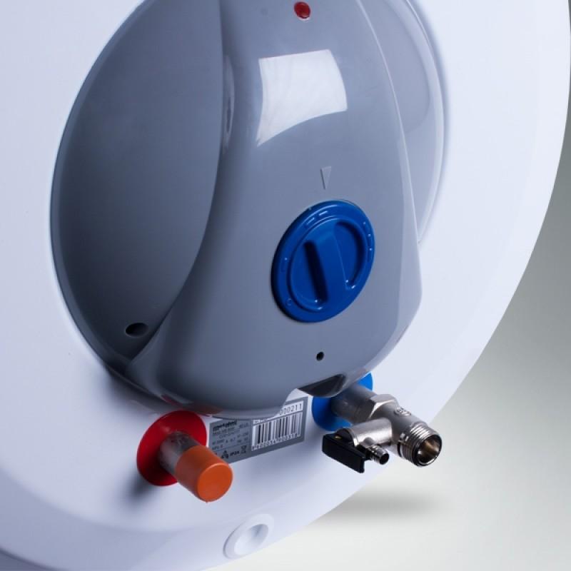 Električni bojler METALAC PRAKTIK - kapa in varnostni ventil