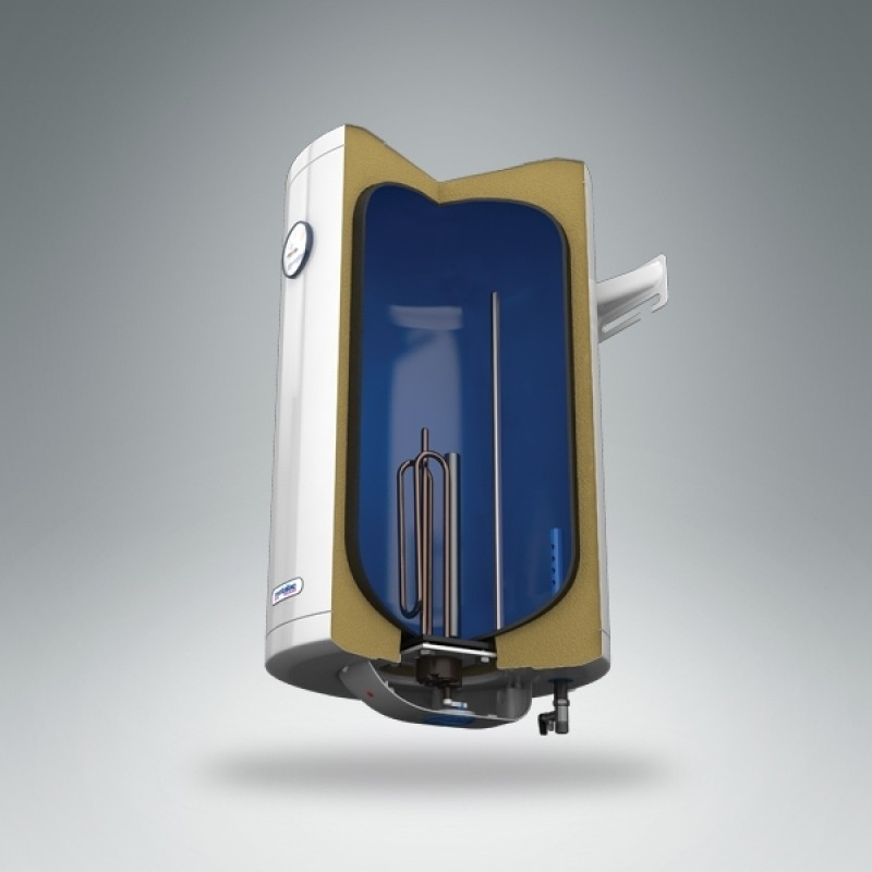 Električni bojler METALAC STANDARD - presek
