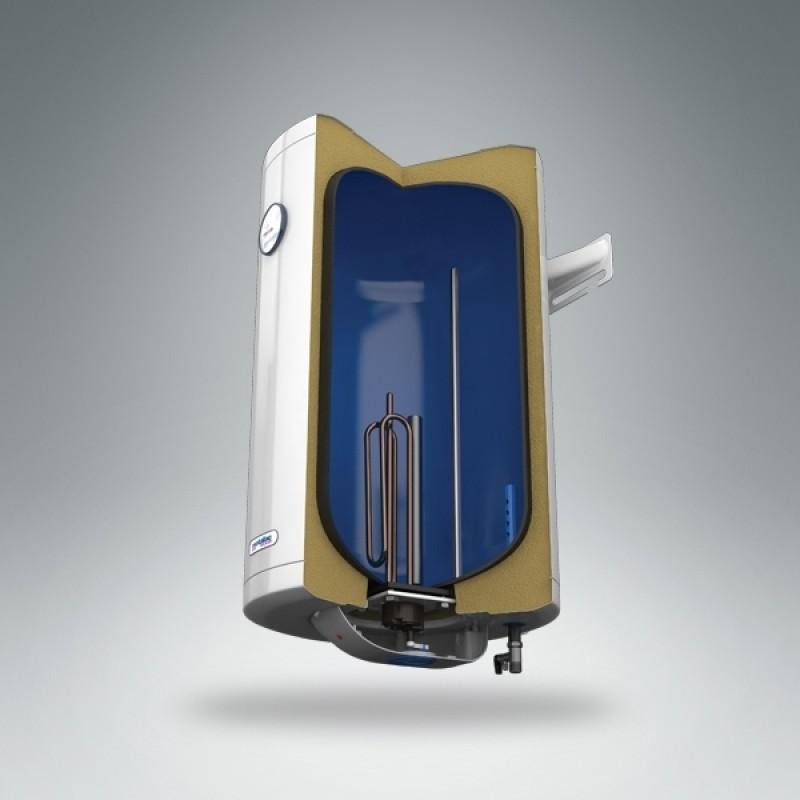 Električni bojler METALAC PRAKTIK - presek