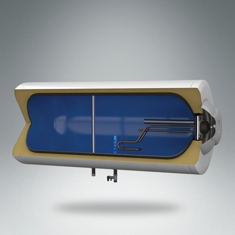Horizontalni bojler METALAC STANDARD 80L - presek