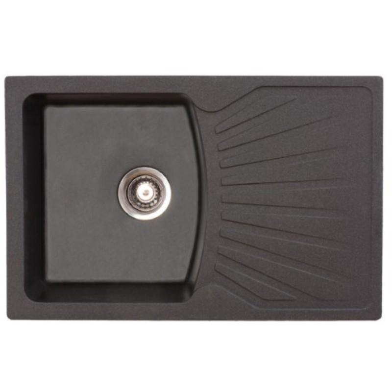 Pomivalno korito METALAC QUADRO PLUS 137410 - črno