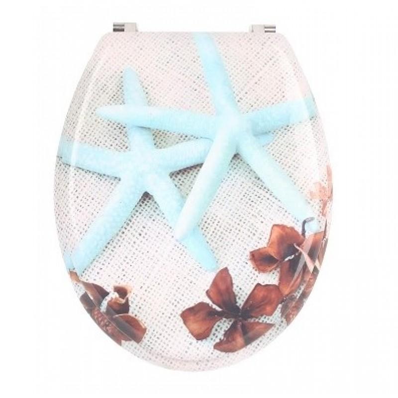 WC deska - morske zvezde