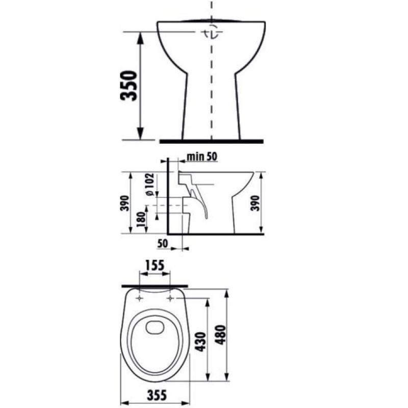 JIKA ZETA 822396 tehnična skica