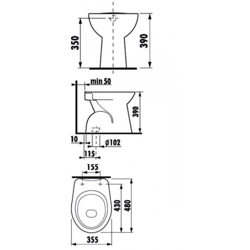 JIKA ZETA 822397 tehnična skica