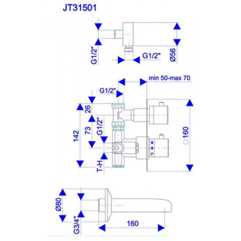 JT31501 - tehnična skica