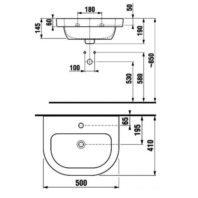 Jika OLYMP 810611 tehnična skica