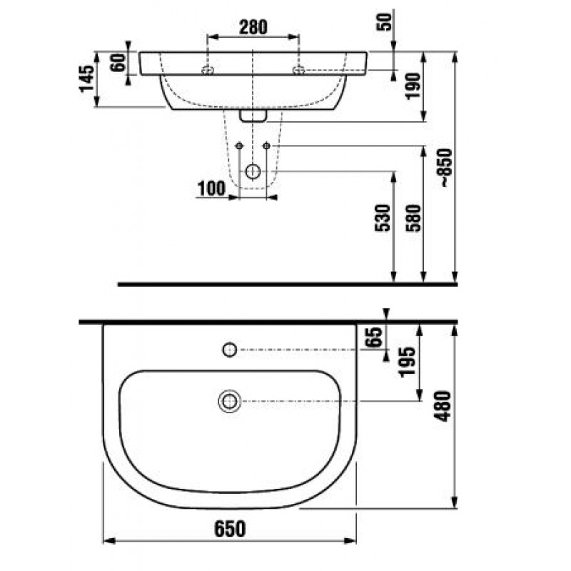 Jika OLYMP 810614 tehnična skica