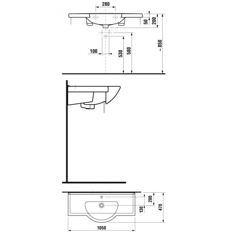 JIKA MIO 814717 tehnična skica